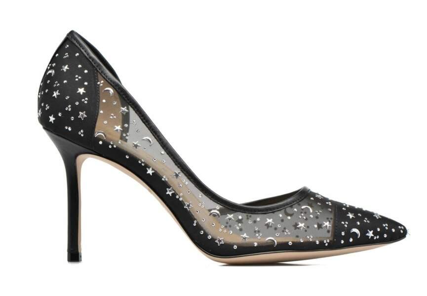 Chaussures de soirée : les escarpins cosmiques