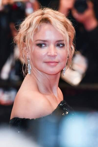"""Virginie Efira à la première de """"Sibyl"""" lors du 72e festival de Cannes, le 24 mai 2019."""