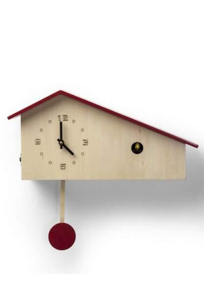 Horloges : le modèle perché Kare