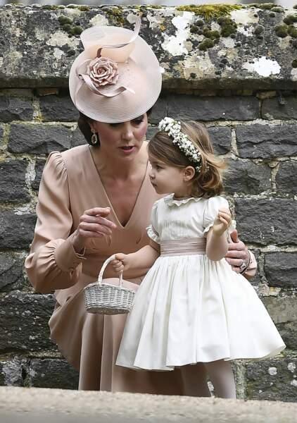 Kate Middleton et Charlotte