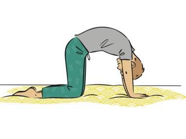 Yoga dans son lit : des postures super faciles pour se réveiller du bon pied