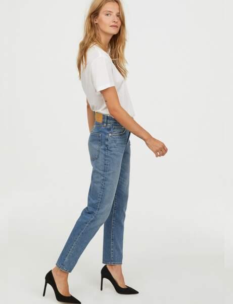 Nouveautés H&M : le jean mom