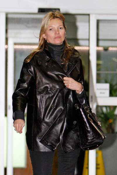 Kate Moss s'est levée du pied gauche visiblement...