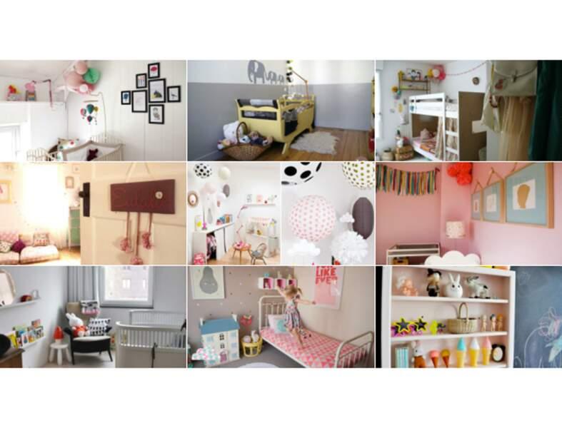 Idées déco pour une chambre de petite fille - Femme Actuelle