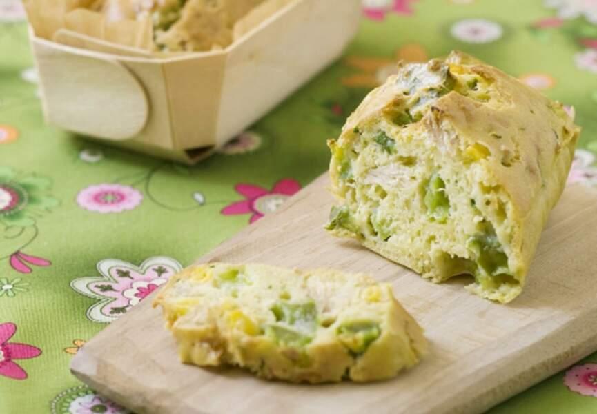 Mini-cakes au thon et aux légumes