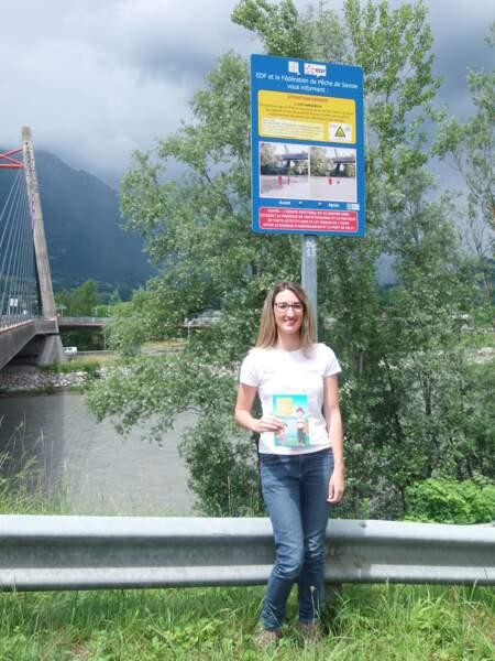 Mandy, 20 ans, hydroguide EDF