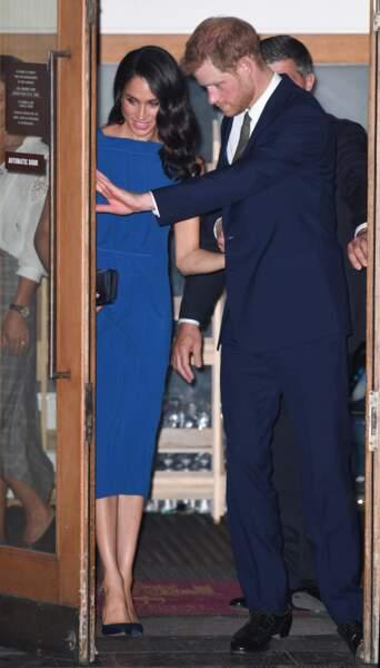 Le couple a assisté à un gala de charité...