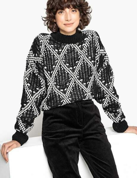 Gros pull : chenille