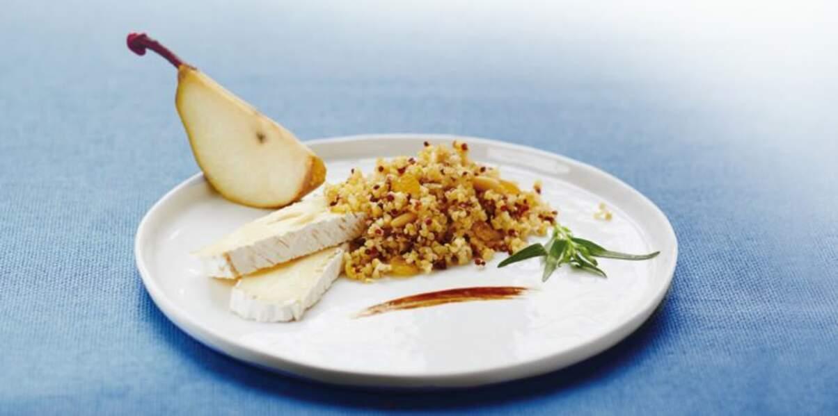Boulghour et quinoa en noir