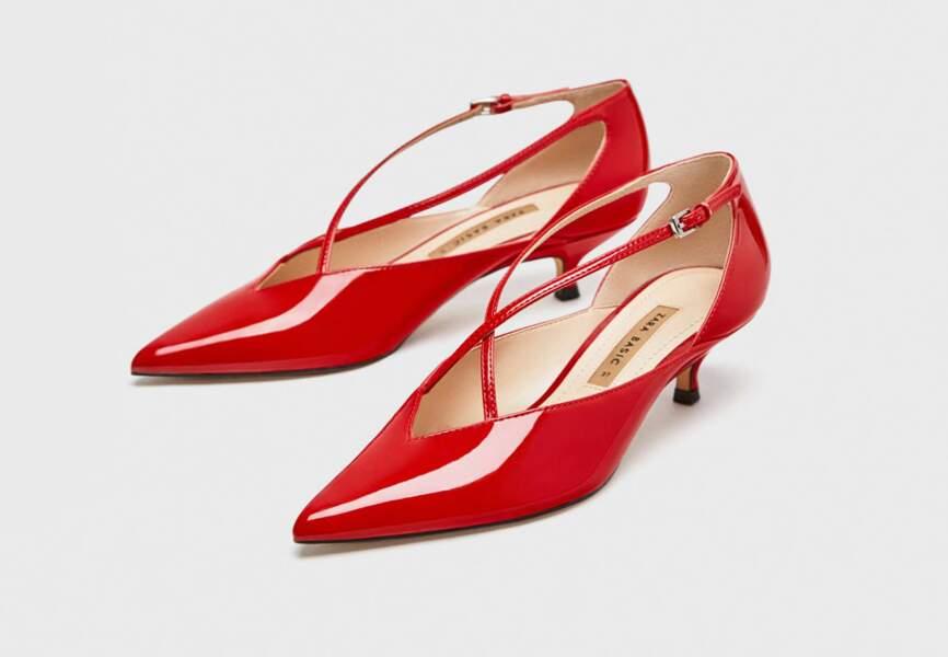 Nouveautés Zara: les escarpins rouges