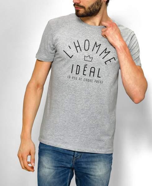 Un t-shirt pour lui dire je t'aime… et lui éviter de prendre la grosse tête