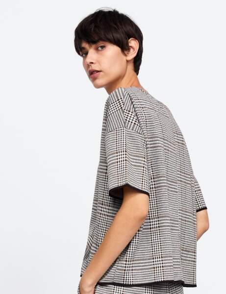 Tendance motif Prince de Galles : la blouse
