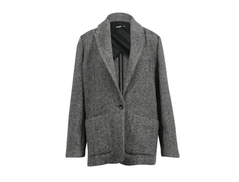 Manteau chiné Jennyfer