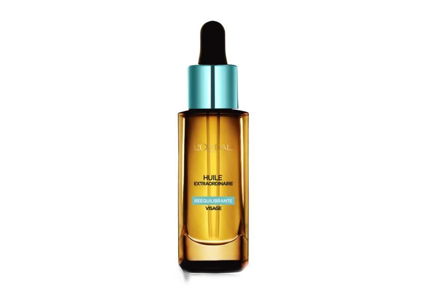 L'huile régulatrice pour le visage