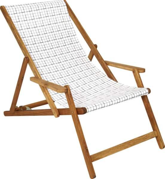 Une chaise pliante design