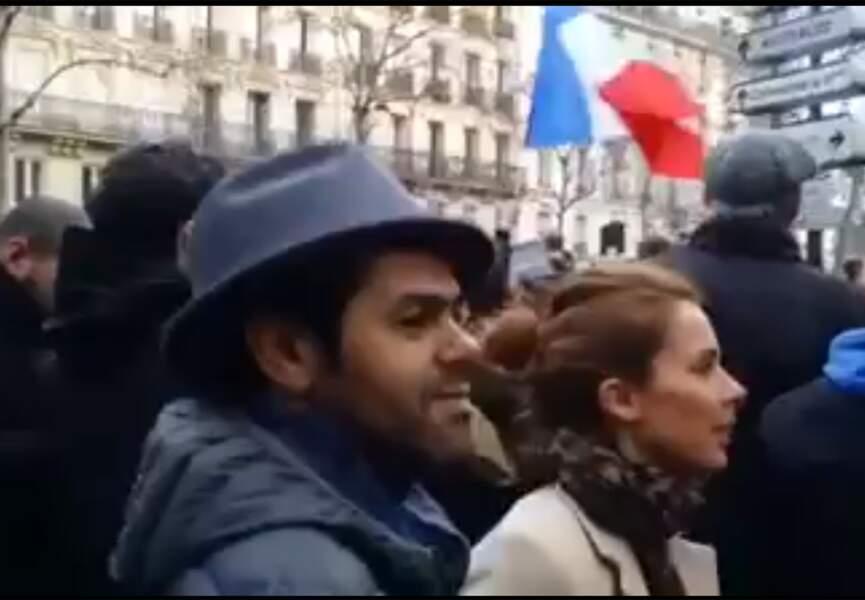 Liberté, égalité, fraternité pour Jamel Debouze et Mélissa Theuriau