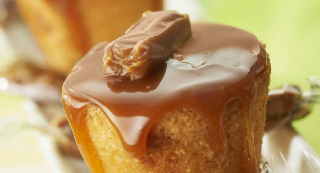 Cake aux caramels au beurre salé