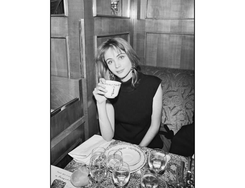 1986 : la jeune femme a alors 23 ans