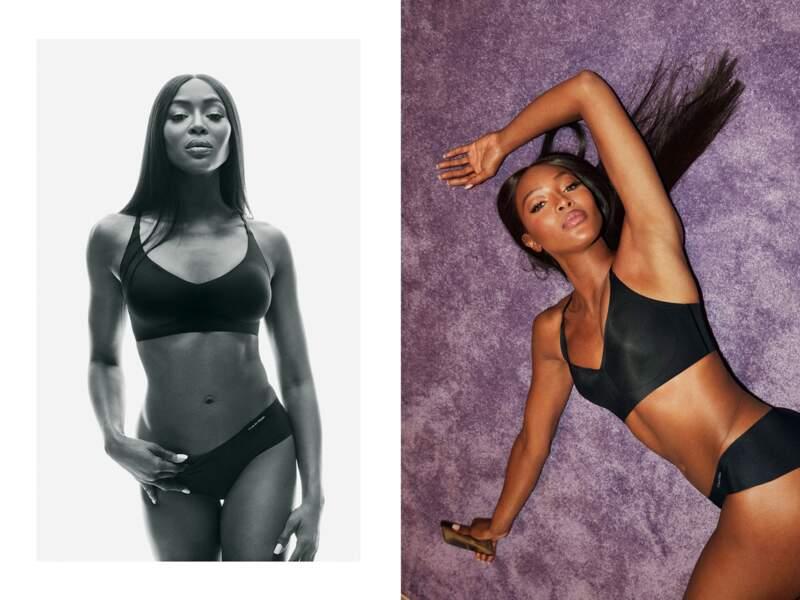 Le casting étonnant de Calvin Klein : Naomi Campbell
