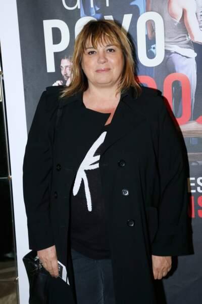 """Michèle Bernier au théâtre Antoine pour le spectacle """"Un poyo rojo"""" en 2018."""