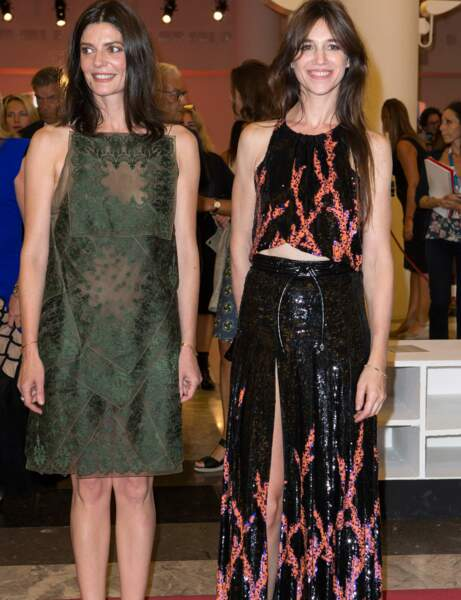 Charlotte Gainsbourg : le look glamour