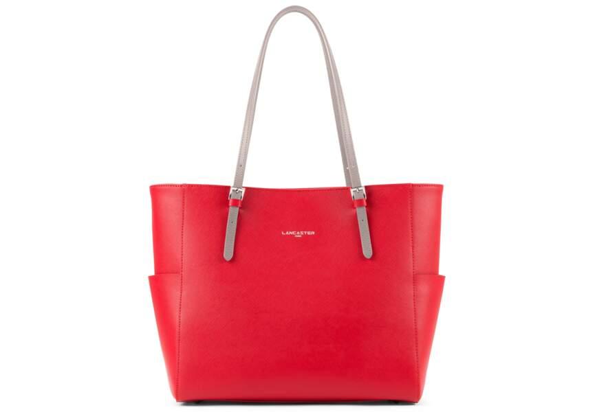 Sac cabas: rouge glamour