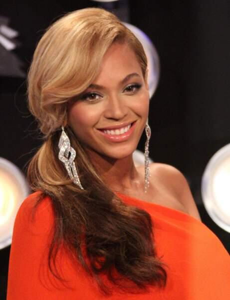 La coiffure sage de Beyoncé