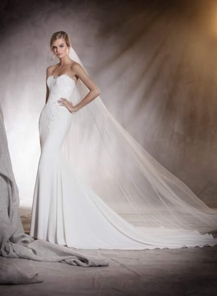 Robe de mariée Pronovias : Alicia