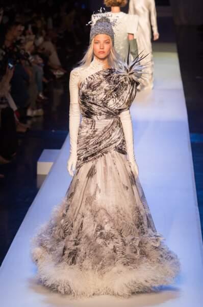 Robe de rêve du défilé Jean-Paul Gaultier haute couture automne hiver 2017-2018