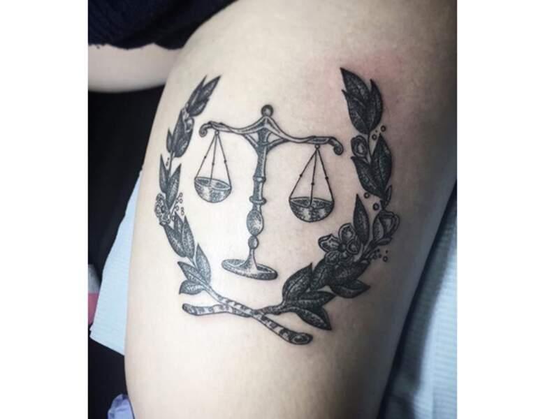 Un tattoo Balance