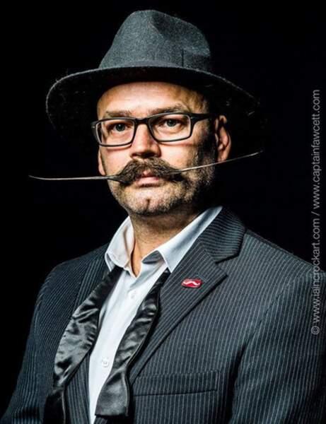 Movember : moustache idée 3