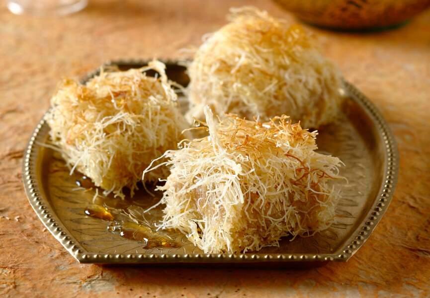 Baklavas aux amandes et pistaches