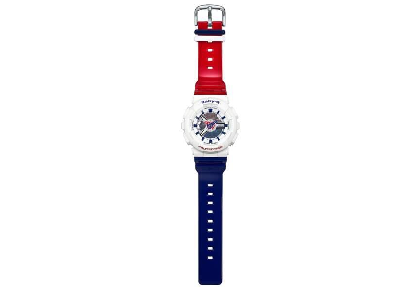 Bleu blanc rouge : la montre chrono