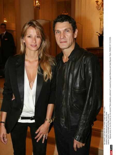 Marc Lavoine et Sarah Poniatowski, 2009