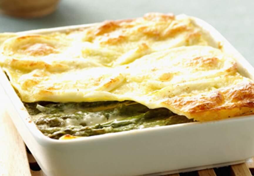 Lasagnes aux asperges et ricotta