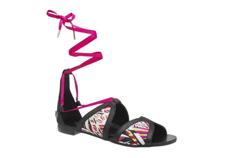 Sandales arty