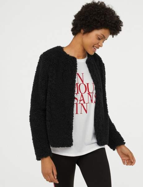 Nouveautés H&M : la veste de grizzly