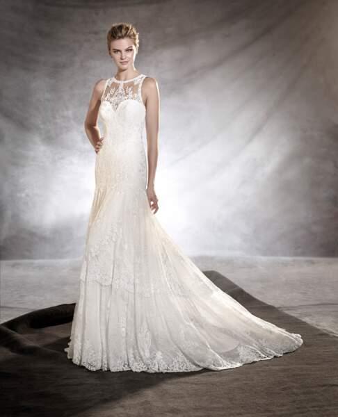 Robe de mariée Pronovias : Osmelia