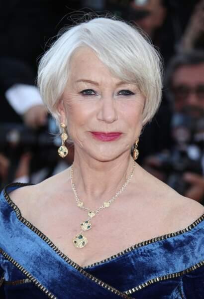 """Le carré """"blanc"""" d'Helen Mirren"""