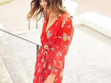Robe rouge à fleurs, pois, carreaux : tous les modèles tendance de l'été