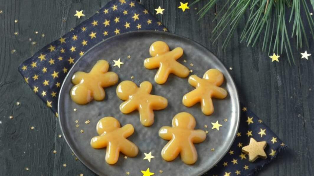 Petits caramels mous