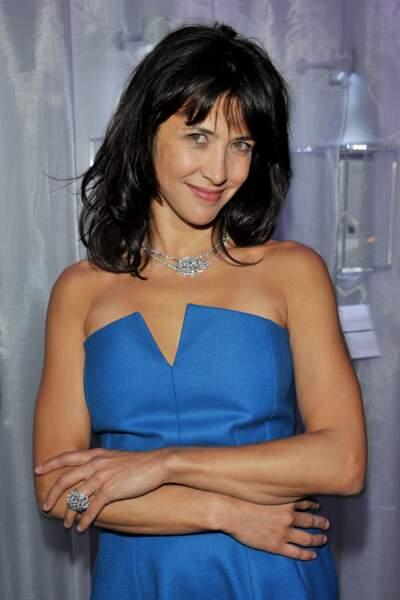 Sophie Marceau à la soirée Chaumet pour leur nouvelle collection en 2008.