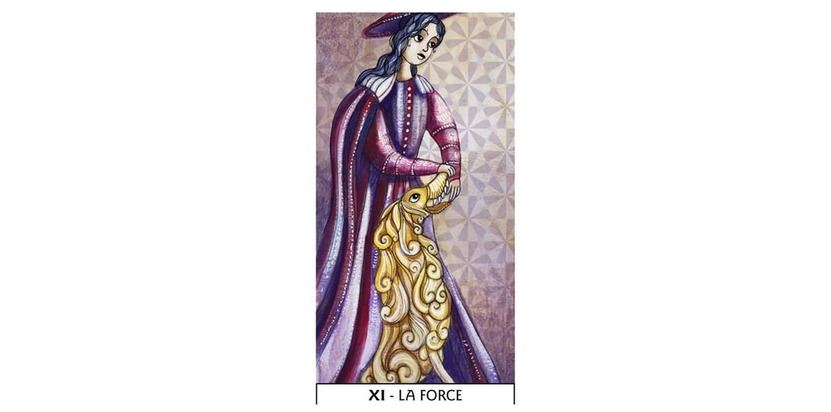 Lame 11 du Tarot des Mages : La Force