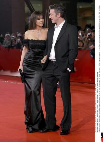 Vincent Cassel et Monica Bellucci : 2008