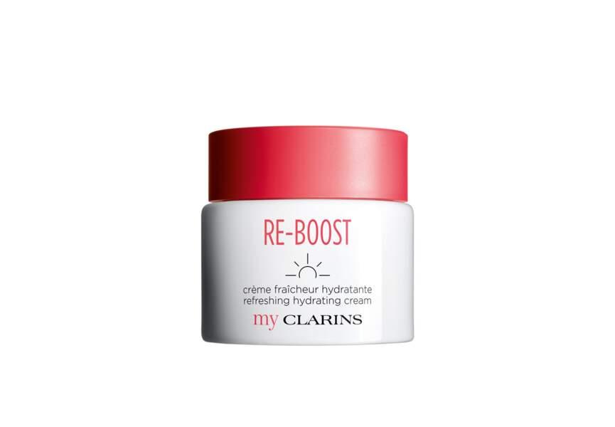 Le meilleur soin expert en parfumerie : Re-boost My Clarins