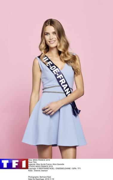 Miss Ile-de-France, Alice Querette