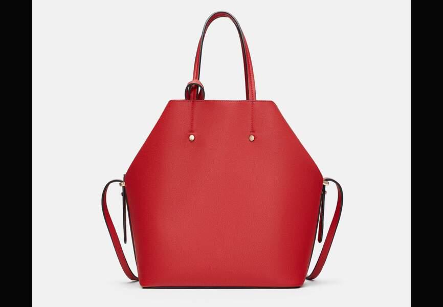 Nouveautés Zara: le cabas rouge
