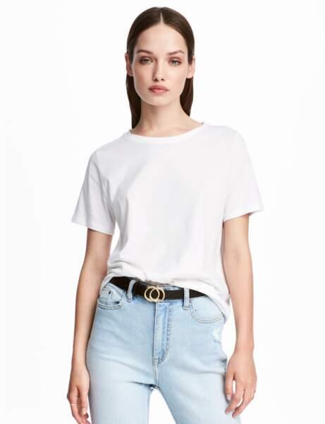 T-shirt blanc : vintage