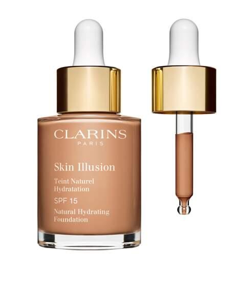 Si je veux un effet peau nue : le Skin Illusion de Clarins