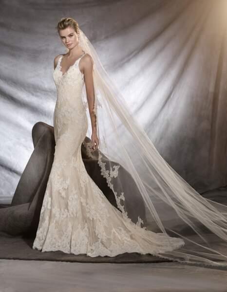 Robe de mariée Pronovias : Osera